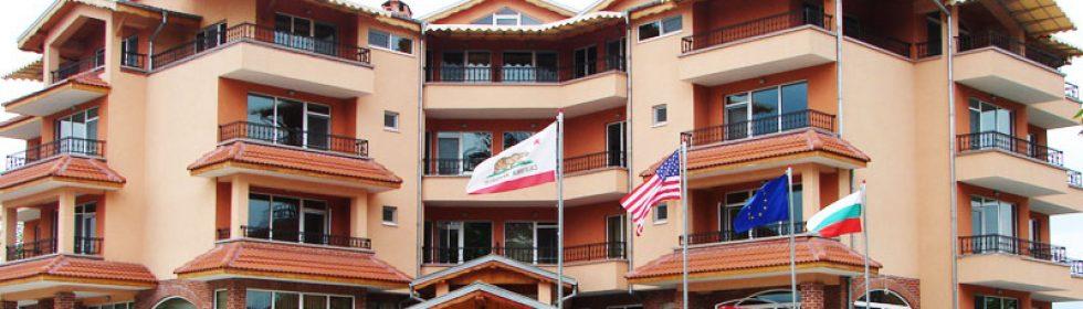 Хотела посреща своите гости целогодишно.